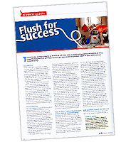 Flush For Success